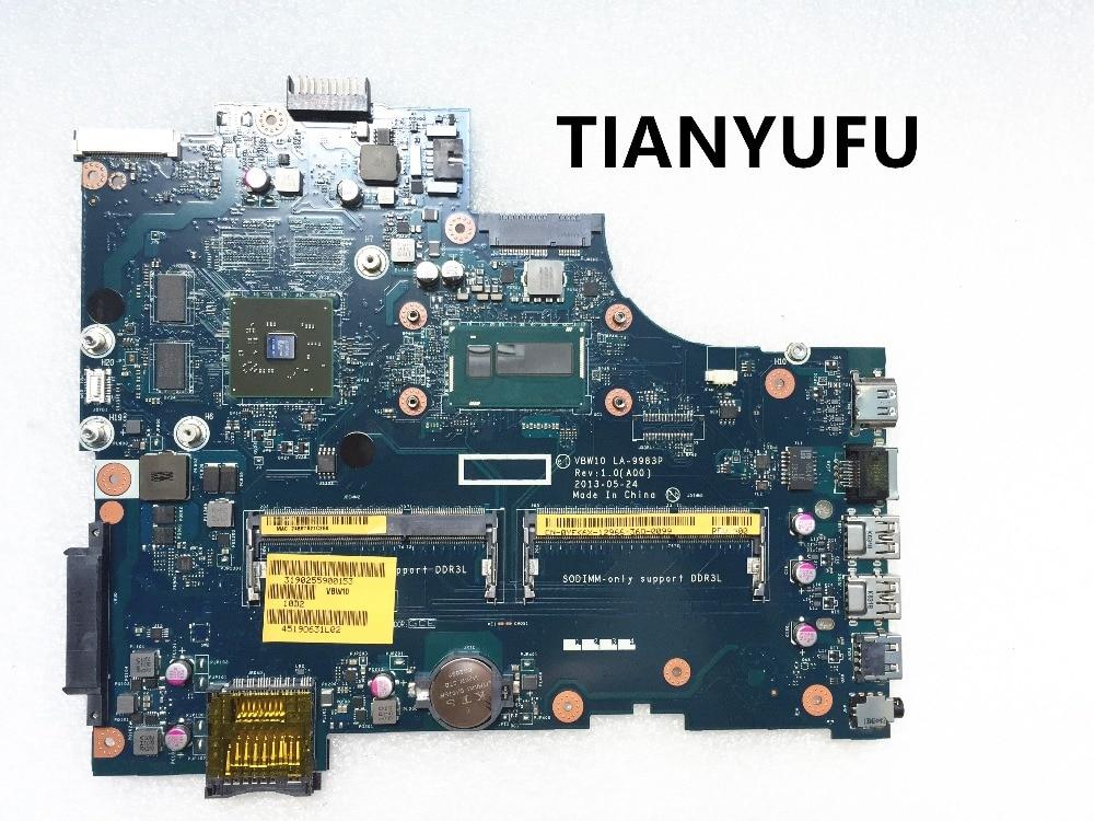 Материнская плата YFK6X для ноутбука Dell Inspiron 17 CN-0YFK6X 5737, с процессором 3737, HD8670, VBW10, i5-4200U тестирование LA-9983P, 100%