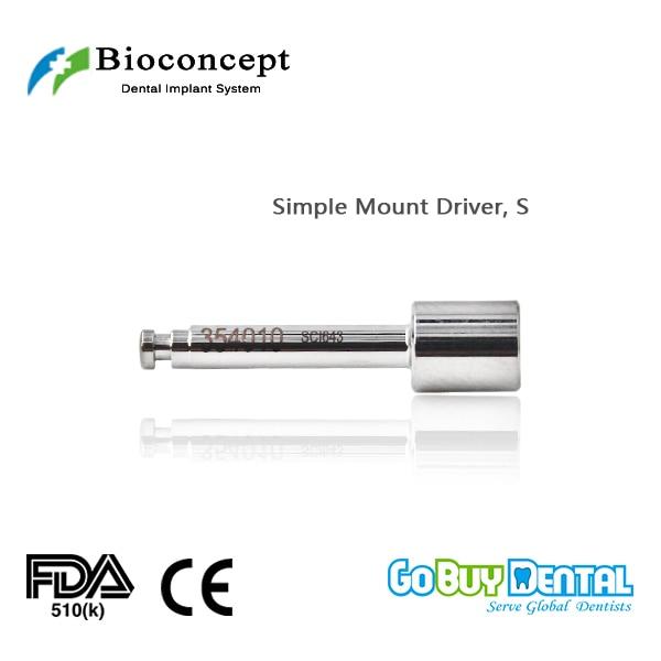 где купить Osstem TSIII&Hiossen ETIII Compatible Bioconcept BV Dental Instrument Simple Mount Driver (354010) по лучшей цене
