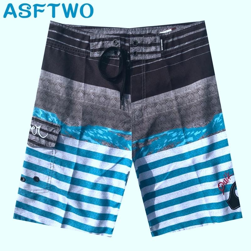 Mens Beach Shorts Swim Trunks Men Swimwears Surf Playa Short Moda Praia Boardshorts XL XXL Bermudas Masculina De Marca