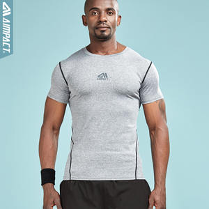 Aimpact Man t Shirts Fitted Compression T-shirts 1d49ad820a