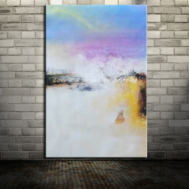 Hand Painted Canvas Painting Arts Poster Modern Abstract Oil Painting Wall Pictures For Living Room Home Decor Wall Art No Frame