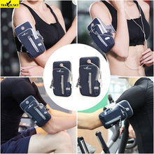 2019 New Sports Running Arm Bag Jogging Gym Band Holder Bags For Mobile Phones Less 6 Inch Keys Pack with Headset Hole16518