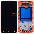 ЖК-Дисплей Для LG Google Nexus 5 D820 D821 Сенсорным экраном дигитайзер полная сборка + Красный Рамка Рамка Бесплатная доставка
