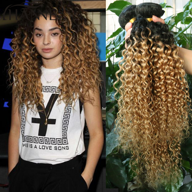2 tone ombre kinky curly hair weave 4 bundles brazilian weave hair 2 tone ombre kinky curly hair weave 4 bundles brazilian weave hair bundles dark roots blonde hair short curly weave human hair in hair weaves from hair pmusecretfo Choice Image