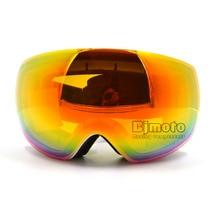 MG-018A Nueva CRG Marca Snowboard Gafas de Esquí Doble Capa Grande Spectacal Antivaho motocross esqui hombres mujeres Gafas de esquí