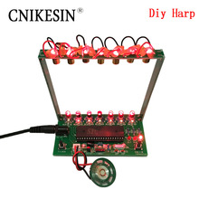 CNIKESIN DIY Kits 51 SCM Laser harp, electronic organ, piano The music box Electronic DIY Technology