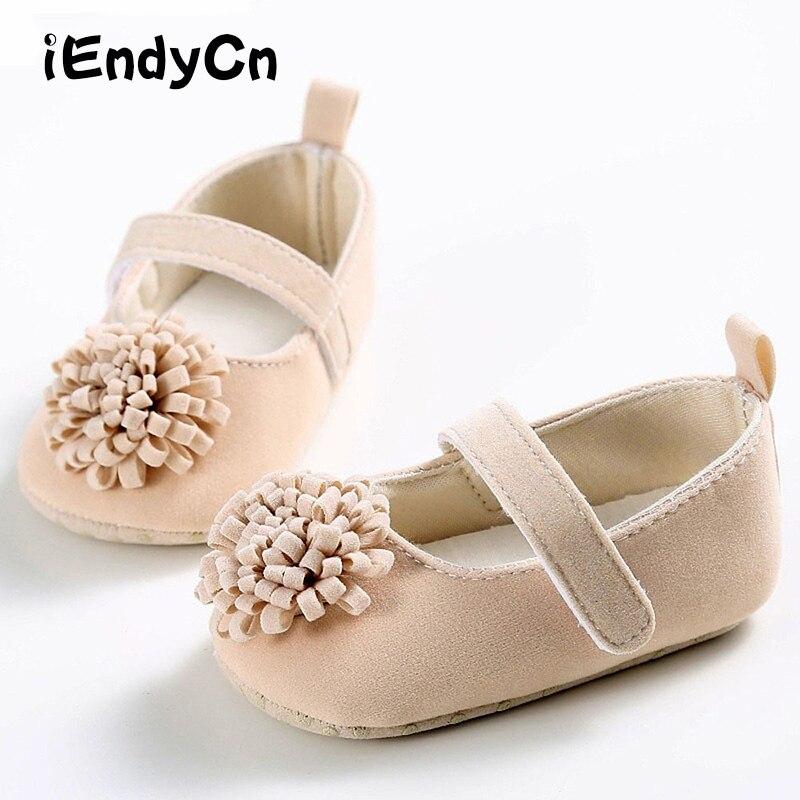 0-1 jaar oude lente en zomer herfst vrouwelijke baby schoenen zachte - Baby schoentjes - Foto 1