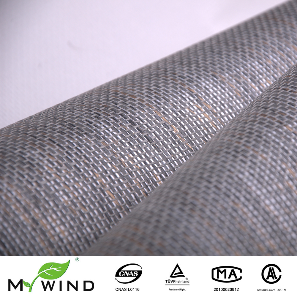 Aliexpress.com : Buy Luxury Grey Texture Paper Weave Wallpaper Natural Home Interior  Design Paper Art Wall Covering For Household And Restaurant From ...
