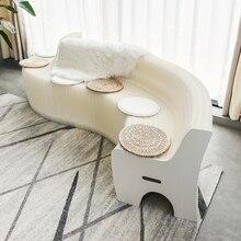 Спинка, деформируемый диван, креативный дизайн, мебель, Современная гостиная, провинции, пространство, Экологически чистая мебель