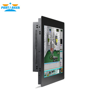Industrial Touch Panel PC with 17 Inch Resistive Touch Screen All In One PC Intel Core i7 3537U All In One PC 4G RAM 64G SSD windows 11 6 inch touch screen 4g ram 128g ssd build in 58mm thermal printer all in one pc pos terminal cash register