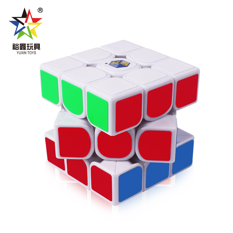 ZhiSheng Kylin 3x3x3 56mm Magic Cube Three Layers Smooth Speed Cubes Puzzle Toys For Kids Adult Black White 6 Color