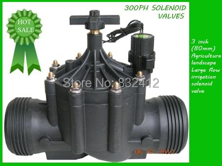"3 ""Injap Solenoid Pengairan BSP 24V AC"