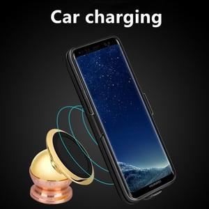 Image 5 - Funda de cargador de batería de 7000 mah para la cubierta de la energía del teléfono de la carga del TPU suave del Samsung galaxy S9 Plus para la carga del coche de Samsung