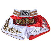 Anotherboxer  New Man Embroidery Boxing Trunks Sanda MMA Punching Kicking Shorts Jujitsu Training Adult Thai Muay Boxer Pants A