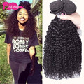 Mongolian Kinky Curly Hair With Closure 3Pcs/ Lot 1B Queen Weave Beauty Ltd Virgin Hair With Closure Aliexpress Products