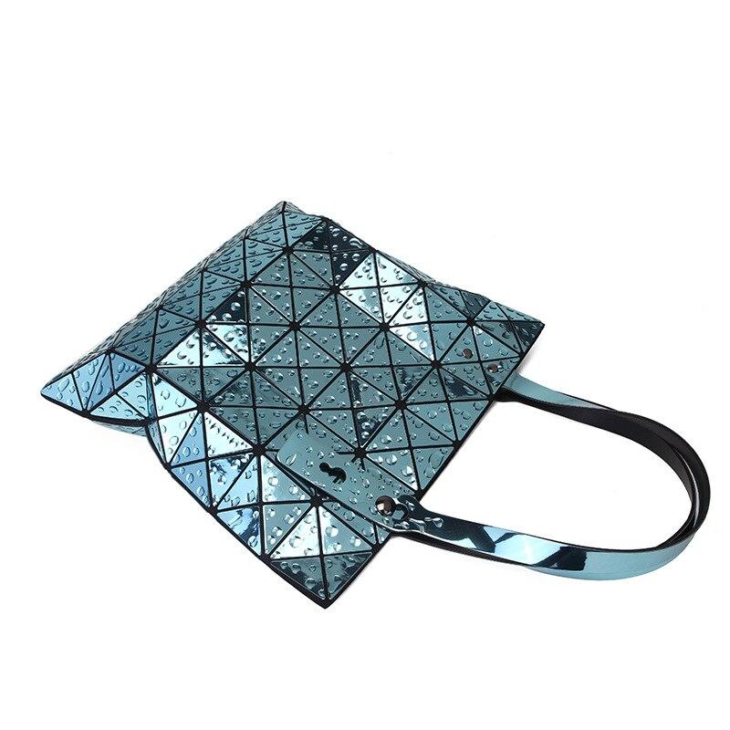 Women Messenger Bags PU Leather Casual Laser Handbags Female Designer Bag Vintage Big Size Tote femme Shoulder Bag Quality in Shoulder Bags from Luggage Bags
