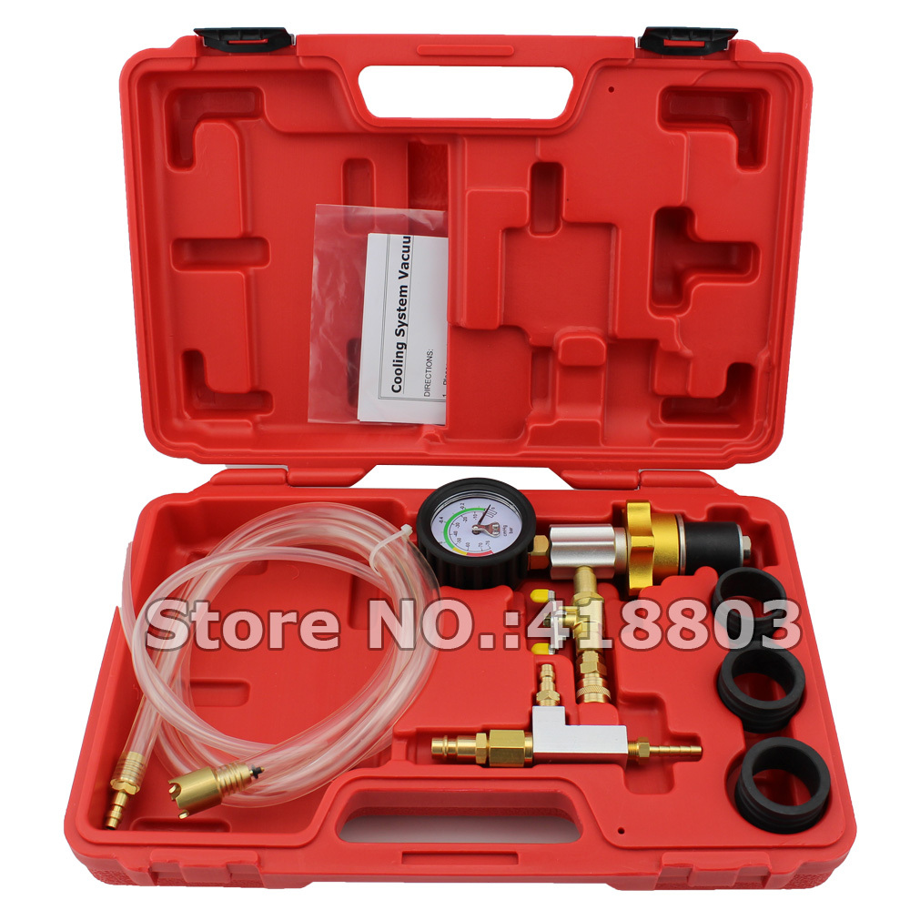 ФОТО Vacuum Type Cooling System Refill Kit Purge Kit