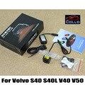 Laser de carro Faróis de Nevoeiro Para Volvo S40L S40 V40 V50 + 12 V Estilo do carro Traseiro Aviso Cauda Lâmpada + Luz de Aviso de Colisão Do Veículo/diodo emissor de luz