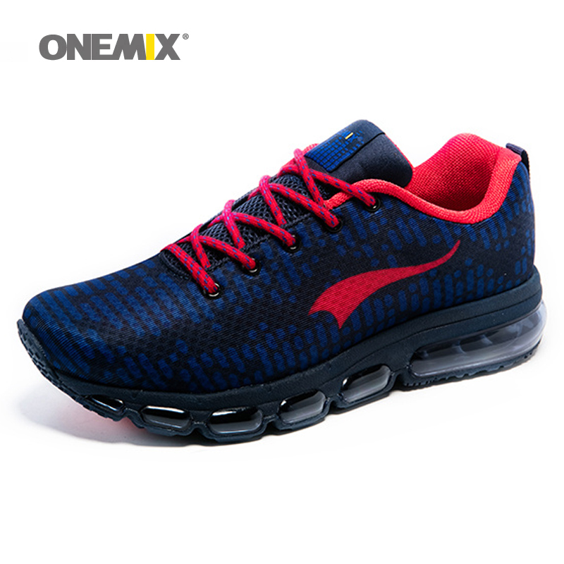 ONEMIX New Air Men's Sport Running Shoes for Women Music Rhythm 2 Sneakers Breathable Mesh Outdoor Athletic Shoe Freerun Men