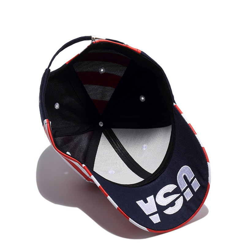 Wuke Brand Νέες ΗΠΑ Μπέιζμπολ Cap Αμερική - Αξεσουάρ ένδυσης - Φωτογραφία 5