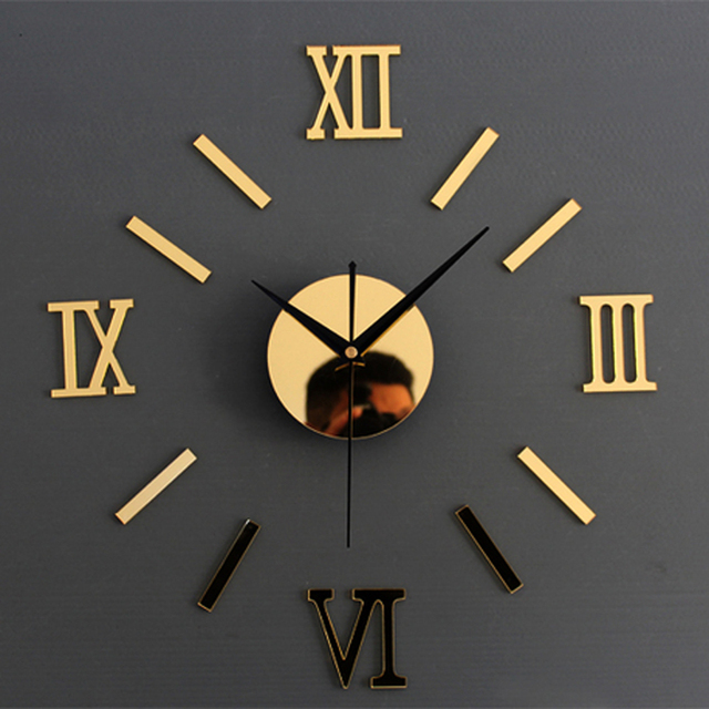 3D Kreativ Romae Digitale Wanduhr Aufkleber Uhr Modernes Design Uhr DIY  Uhren Auf Küche Wanduhr Wohnzimmer