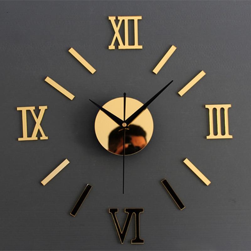 3d Twórczo Romae Cyfrowy Zegar Naklejany Na ścianę Zegarek