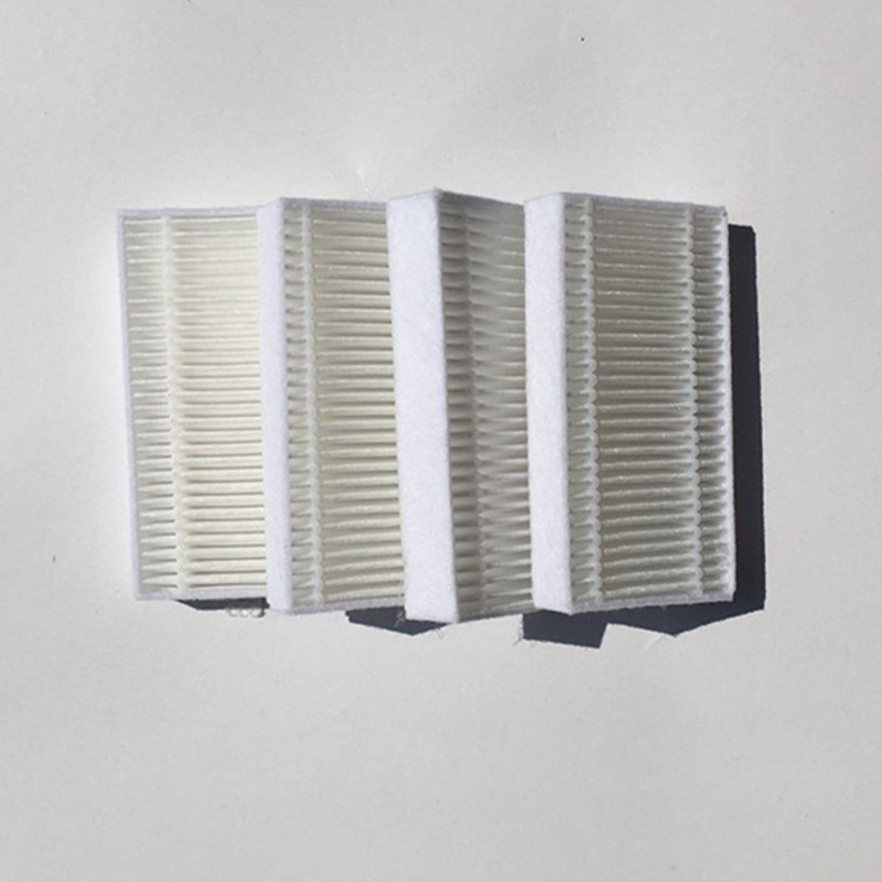 4 pieces/lot Vacuum Robotic Cleaner Parts HEPA Filter for Haier T320 T321 T325 Series haier xshuai shuaixiaobao robotic vacuum cleaner