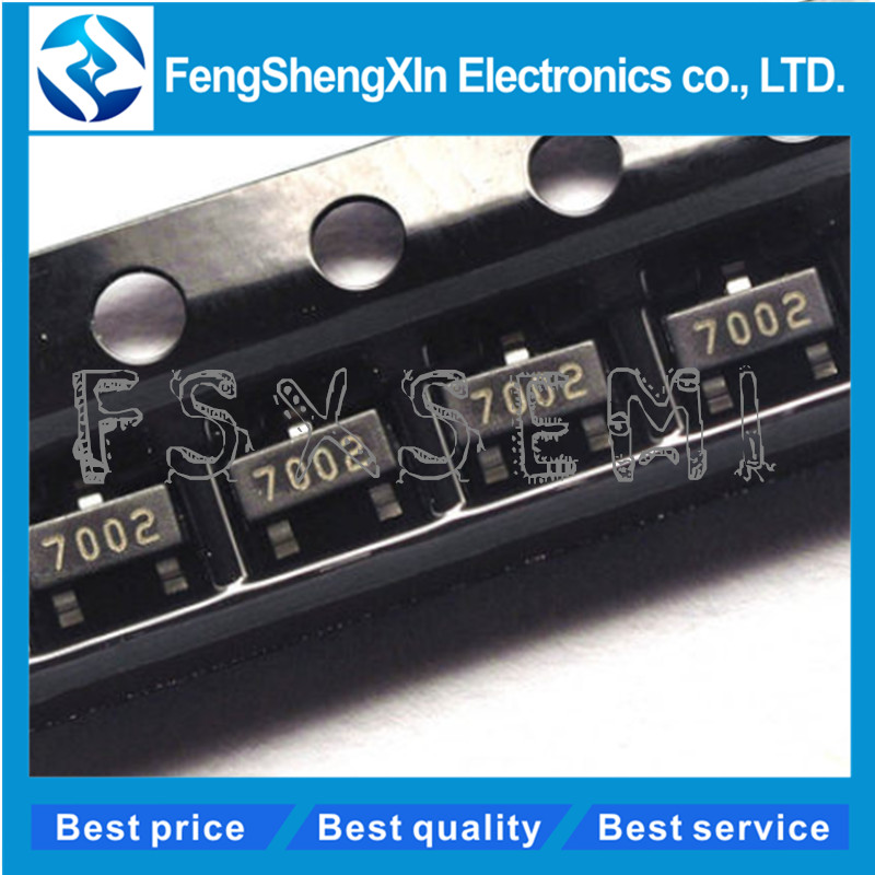 50PCS 2N7002 SOT-223 Small Signal N-Channel MosFET NEW GOOD QUALITY