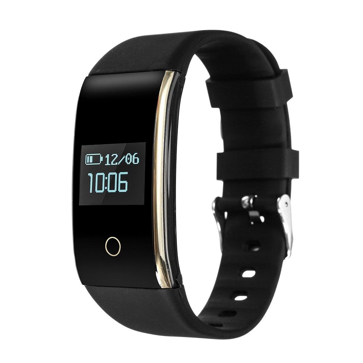 Brand New 0.66Inch OLED Screen IP67 Waterproof Smart Bracelet Watch Wristband Sport Fitness Track Heart Rate Monitor