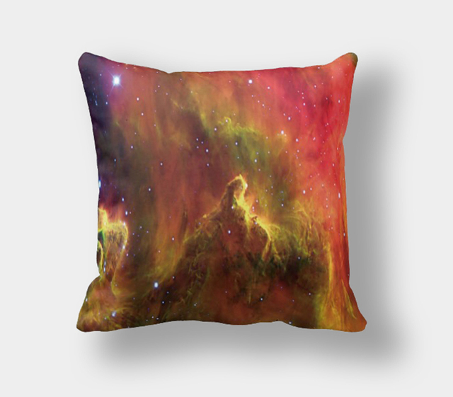 IKathoME Universe Galaxy Decorative Throw Pillow Covers for Sofa