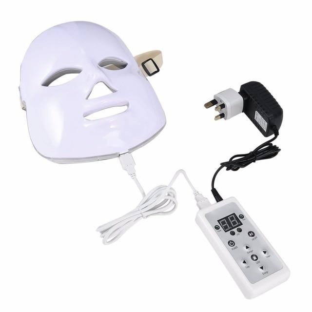 Korean Photodynamic LED Facial Mask Home Use Beauty Instrument Anti Acne Skin Rejuvenation LED Photodynamic Beauty Face Mask 4