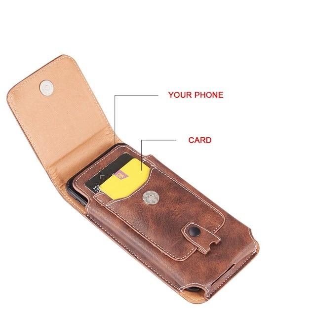 Belt Clip Phone Pouch Case Universal Mobile Phone Holster Waist for xiaomi redmi note 4 4x 5 5a 6 redmi 5 plus 6a mi8 mi9 cover 3