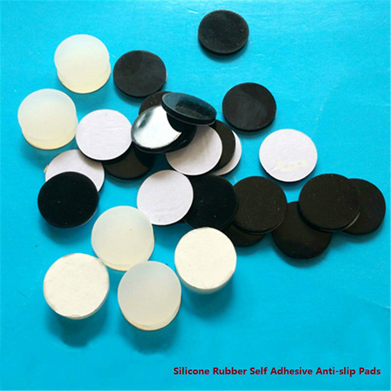 30mm Anti Slip Silicone Rubber Plastic Furniture Feet Pads