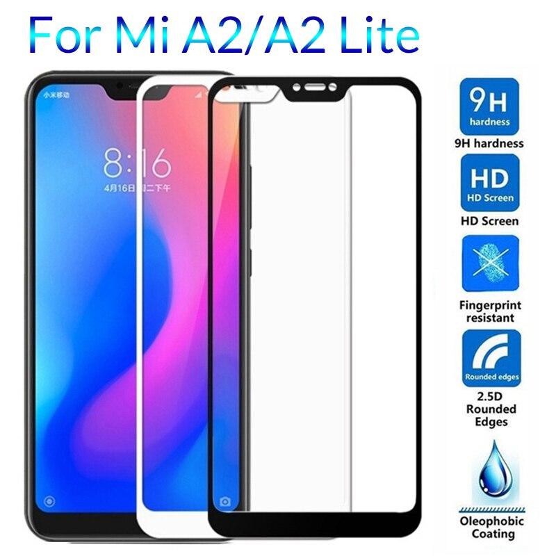 Tempered Glass For Xiaomi Mi A2 Lite Screen Protector For Xiaomi 8 Lite Mi8 Mia2 Light Safety Glass Pelicula Xiomi Xiami A3 Film