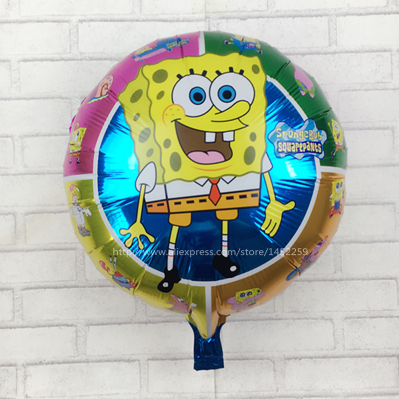 Adroit Xxpwj Hot Birthday Party Decorations Cartoon Automatic Sealing Foil Balloons Wholesale Round I-060 Childrens Toys