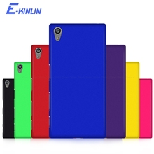 цена на Matte PC Hard Back Cover For Sony Xperia L1 L2 L3 X Performance E5 Z5 Premium Z4 Z3 Z2 Z1 Compact Z M5 M4 Protective Phone Case