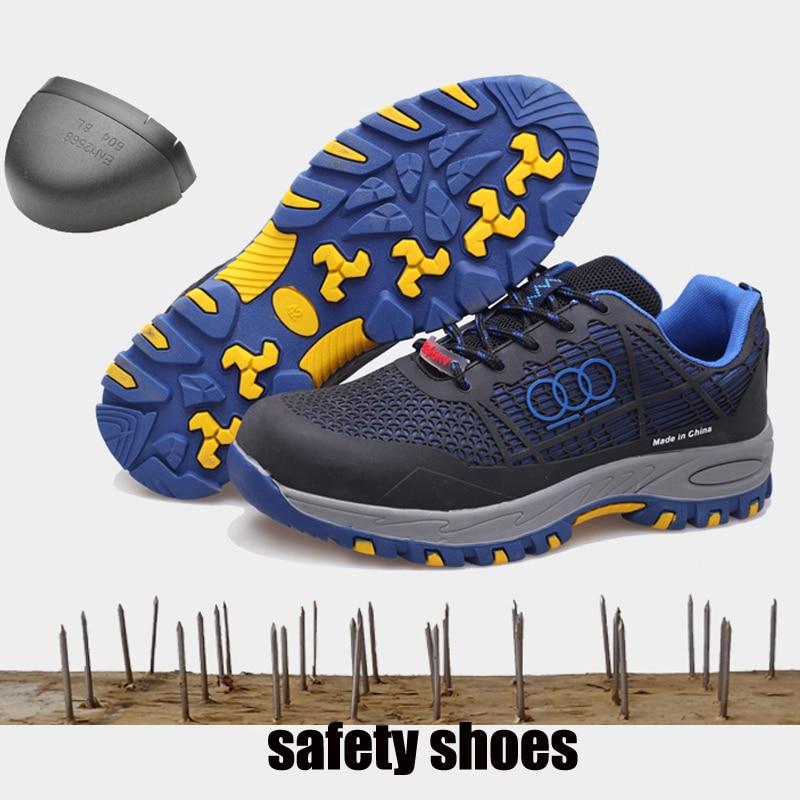 Goma Trabajo Acero De Zapatillas Punta rojo Hombres Es Hombre Para Negro Zapatos Ligera Seguridad naranja Los verde Militar Botas Indestructible Combate Deporte cOSCwq