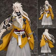 24cm High Quality Touken Ranbu Online Model Kogitsunemaru Action Figure  Fox Bal Figure Toy