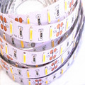 LED Strip 7020 SMD 300leds/5M DC12V Cool/Warm White nonwaterproof /waterproof LED Flexible Ribbon Tape  Samsung chip free ship