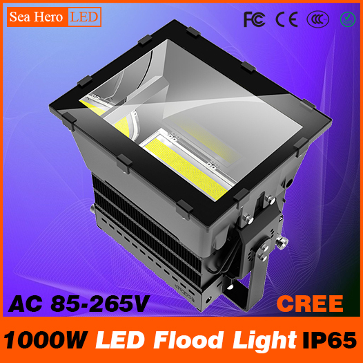 1000W LED Flood light Bulkhead lamp Professional Industrial lighting 10-90degree IP65 AC 85-265V Cree chips XTE or XML2 sitemap 265 xml