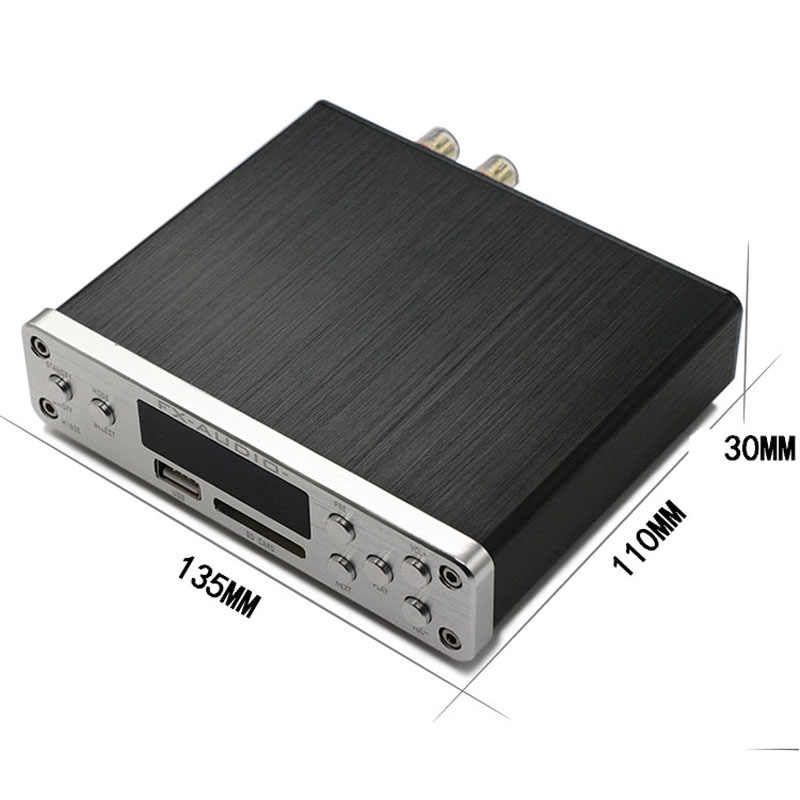 FX-Audio M-160E Bluetooth 4,0 цифровой аудио усилитель вход USB/SD/AUX/PC-USB проигрыватель без потерь усилитель аудио мощность 160 Вт * 2