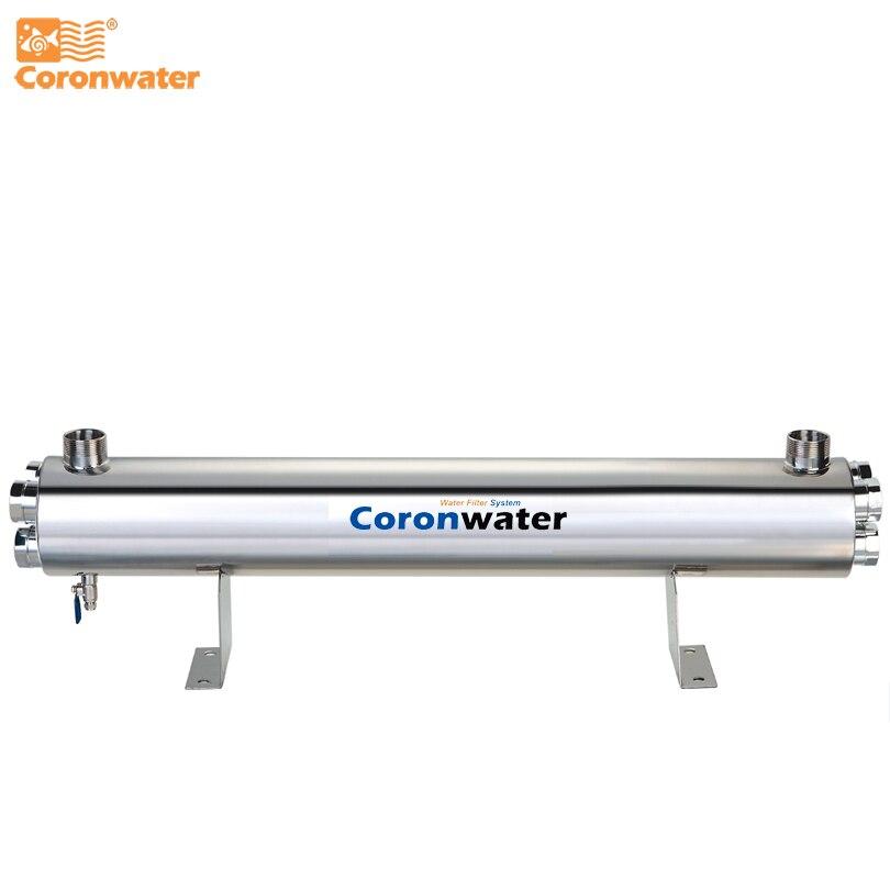 SS304 48 GPM Sterilizzatore UV Acqua Acqua 220 W UV Disinfezione del Sistema
