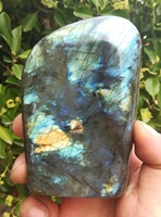 500g natural crystal mineral labrador specimen reiki healing rectangle