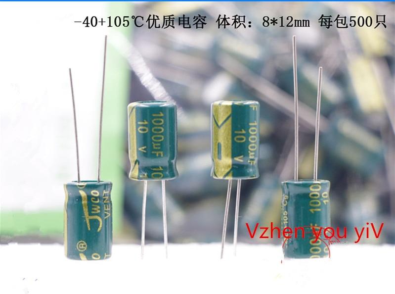500 pcs 1000uf10v 10v1000uflcd power board placa 01