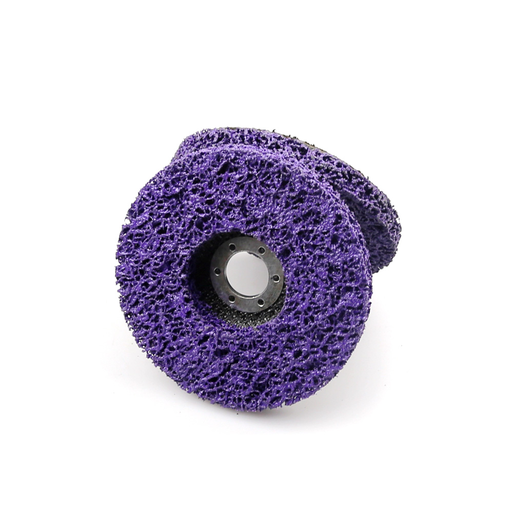 5/'/' inch Purple Clean Sanding Disc Sandpaper Pad 40-800 Assorted Grit Hook Loop
