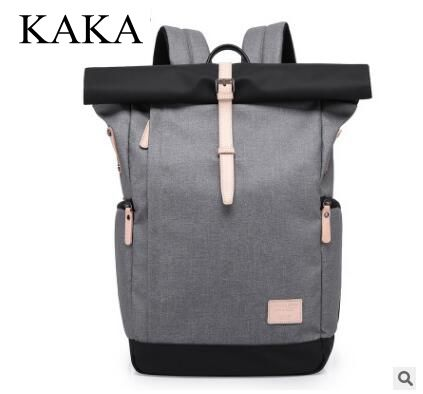 Brand KAKA Men Backpack 15.6 Inch Laptop Backpacks Multifunction Oxford large Travel Bag Male School Student Back Pack Rucksack multifunction men women backpacks usb charging male casual bags travel teenagers student back to school bags laptop back pack