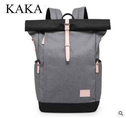 Marca kaka homens mochila 15.6 Polegada mochilas portátil multifuncional oxford grande saco de viagem do sexo masculino estudante da escola volta pacote