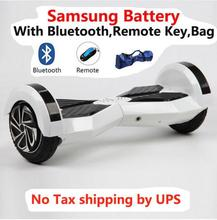 MAOBOOS 8 inch Bluetooth Hoverboard Samsung battery Two Wheel Self Balance electric Scooters Oxboard smart balance Hover Board