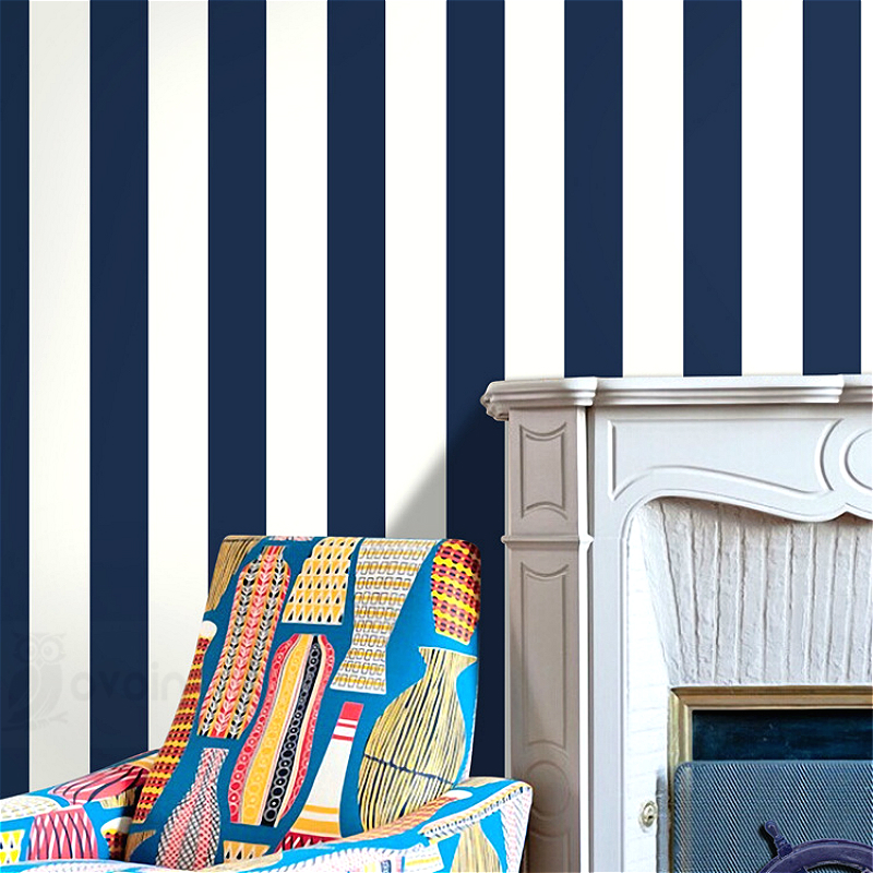 Stripes geometric pattern designs striped wallpaper for for Striped wallpaper bedroom designs