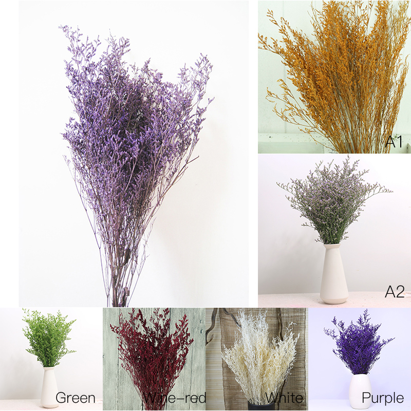 Nice Flower Natural Small Dried Flower For Party Home Bedroom Living Room Office DIY Decoration Flowers Scrapbooking Handicraft